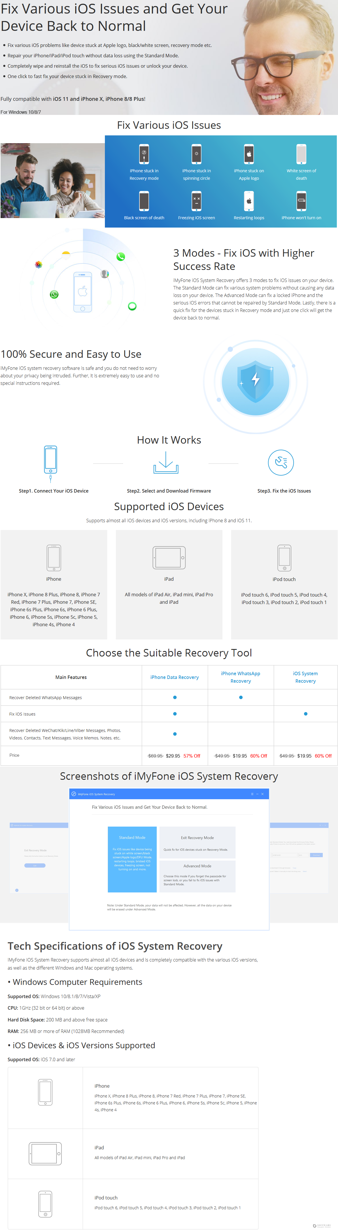 iMyfone iOS System Recovery Discount Coupon Code