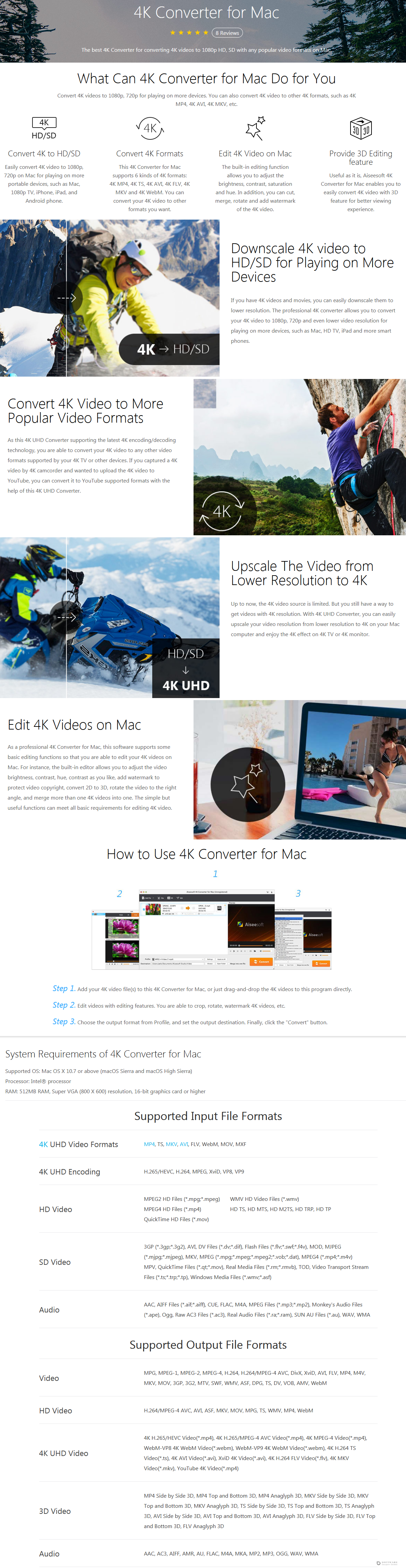 Aiseesoft 4K Converter for Mac Discount Coupon Code