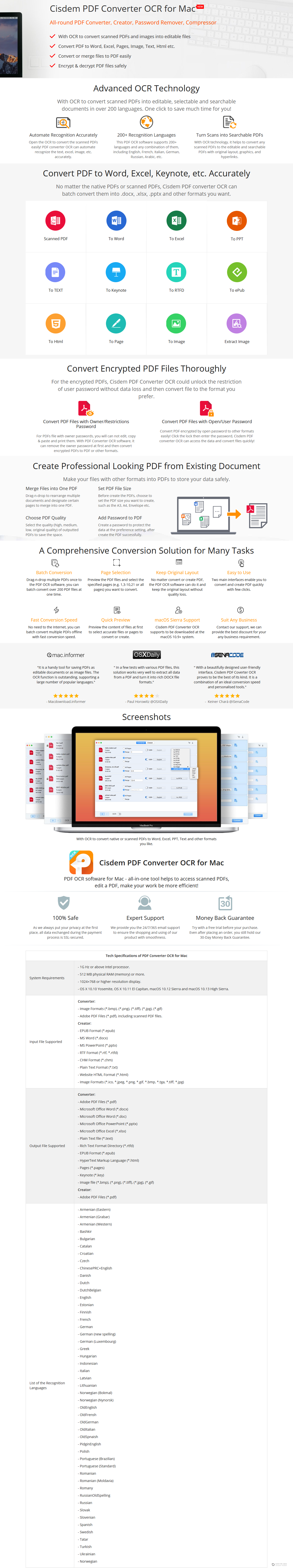 50% Off - Cisdem PDFConverterOCR for Mac Discount Coupon Code