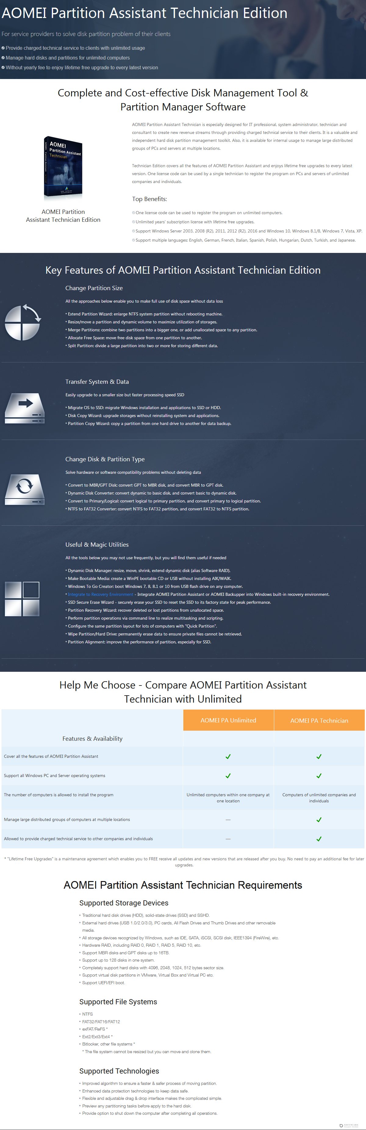 AOMEI Partition Assistant Unlimited Edition Discount Coupon Code
